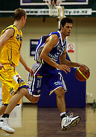 Arthur Trousdell during the NBL Basketball match between Wellington Saints and Otago Nuggets at TSB Bank Arena, Wellington, New Zealand on Sunday, 30 March 2008. Photo: Dave Lintott / lintottphoto.co.nz