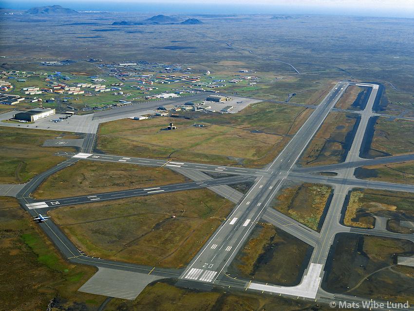 Varnarliðsstöðín, Keflavík- BIKF Keflavíkurflugvöllur.NATO-base at BIKF Keflavik airport. 1993