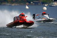 Mark Major (#17) and Chris Fairchild (#62)   (Formula 1/F1/Champ class)
