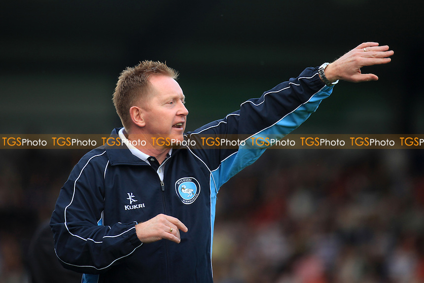 Wycombe Manager, Gary Waddock - Wycombe Wanderers vs QPR - Friendly Football Match at Adams Park, High Wycombe, Buckinghamshire - 31/07/12 - MANDATORY CREDIT: Paul Dennis/TGSPHOTO - Self billing applies where appropriate - 0845 094 6026 - contact@tgsphoto.co.uk - NO UNPAID USE.