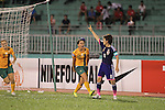 Japan vs Australia during the 2014 AFC Women's Asian Cup Final match on May 25, 2014 at the Thống Nhất Stadium in THồ Chí Minh City, Vietnam. Photo by World Sport Group