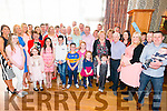 Paul and Louise Heenan from Killarney celebrated christening of their son Casey surrounded by friends and family in the Killarney Hotel, Killarney last Saturday.