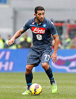 Calcio, Serie A: Lazio vs Napoli. Roma, stadio Olimpico, 18 gennaio 2015.<br /> Napoli's Walter Alejandro Gargano in action during the Italian Serie A football match between Lazio and Napoli at Rome's Olympic stadium, 18 January 2015.<br /> UPDATE IMAGES PRESS/Riccardo De Luca