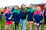 Enjoying the races on Saturday in Cahersiveen were l-r; Clara Daly, Katie O'Connell, Fiona Griffin, Clodagh Coffey & Shaunnagh O'Shea.