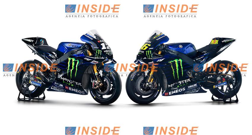 2019 MONSTER ENERGY YAMAHA MOTOGP TEAM PRESENTATION <br /> Yamaha YZR M1 <br /> 27/12/2018<br /> Foto Yamaha Press Office / Insidefoto <br /> Editorial Use Only