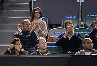 ANDY MURRAY (GBR), AMELIE MAURESMO<br /> <br /> TENNIS - GRAND SLAM ITF / ATP  / WTA - Australian Open -  Melbourne Park - Melbourne - Victoria - Australia  - 29 January 2016<br /> <br /> &copy; AMN IMAGES