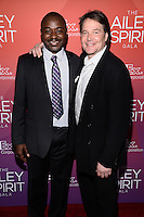 NEW YORK, NY - JUNE 11: Robert Battle and David Parsons pictured at the 'Ailey Spirit Gala Benefit at the David H. Koch Theater , New York City ,June 11, 2014 © HP/Starlitepics.