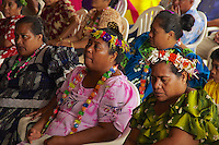 Traditional Chuukese on the island of Chuuk, also called Truk Lagoon in Micronesia Micronesia