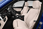 Front seat view of a 2017 BMW 3 Series Touring Luxury 5 Door Wagon front seat car photos
