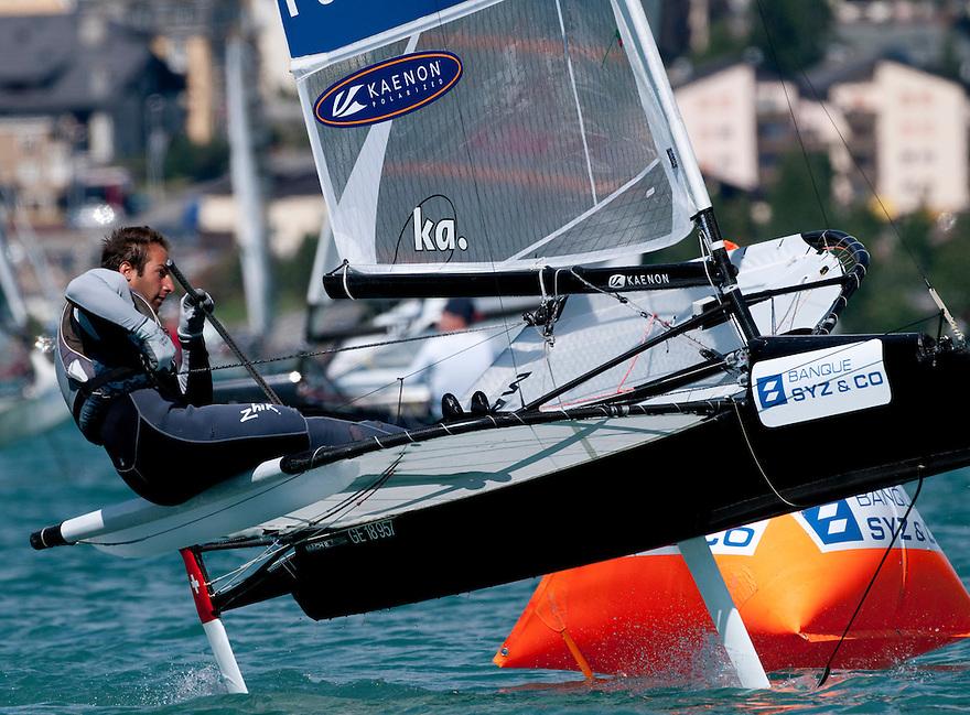 Arnaud Psarofaghis - SYZ & CO 2010 MOTH EUROPEAN CHAMPIONSHIPS, Silvaplana.