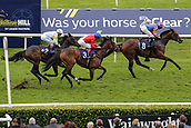 15th September 2017, Doncaster Racecourse, Doncaster, England; The William Hill St Ledger Festival, Gentleman's Day; Ryan Moore on Music Box wins the The Japan Racing Association Sceptre Stakes (Class 1) (Group 3)