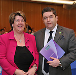 IHF- REPRO FREE HOTELIERS CONFERENCE KILLARNEY: .Killarney hoteliers, Bernadette Randles The Dromhall Hotel and her brother Tom Randles, Randles Court Hotel pictured at the IHF conference in The Malton Hotel, Killarney on Monday..Picture by Don MacMonagle...PR photo IHF