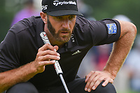 Dustin Johnson (USA) lines up his putt on 1 during Rd3 of the 2019 BMW Championship, Medinah Golf Club, Chicago, Illinois, USA. 8/17/2019.<br /> Picture Ken Murray / Golffile.ie<br /> <br /> All photo usage must carry mandatory copyright credit (© Golffile   Ken Murray)