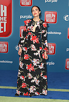 LOS ANGELES CA - NOVEMBER 5: Mandy Moore at the LA Premiere Of Ralph Breaks The Internet in Los Angeles, California on November 5, 2018. <br /> CAP/MPI/FS<br /> &copy;FS/MPI/Capital Pictures