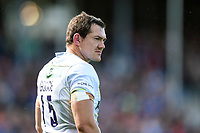 Alex Goode of Saracens looks on during a break in play. Aviva Premiership match, between Bath Rugby and Saracens on September 9, 2017 at the Recreation Ground in Bath, England. Photo by: Patrick Khachfe / Onside Images