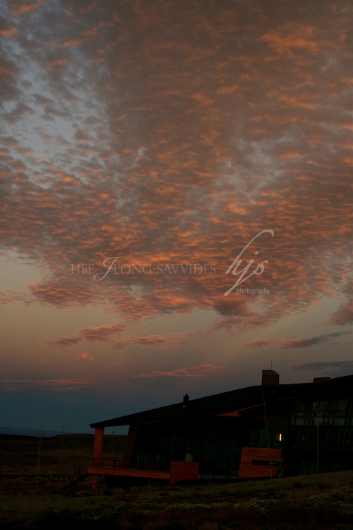Sunset view, Design Suites Hotel Calafate, El Calafate,  Santa Cruz, Patagonia, Argentina | Feb 08