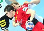 13.01.2018., Croatia, Arena Zagreb, Zagreb - European Handball Championship, Group C, Round 1, Germany - Montenegro. LASICA Marko <br /> <br /> Foto &copy; nordphoto / Sanjin Strukic/PIXSELL