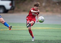 Seattle, WA - Saturday Aug. 27, 2016: Meghan Klingenberg during a regular season National Women's Soccer League (NWSL) match between the Seattle Reign FC and the Portland Thorns FC at Memorial Stadium.