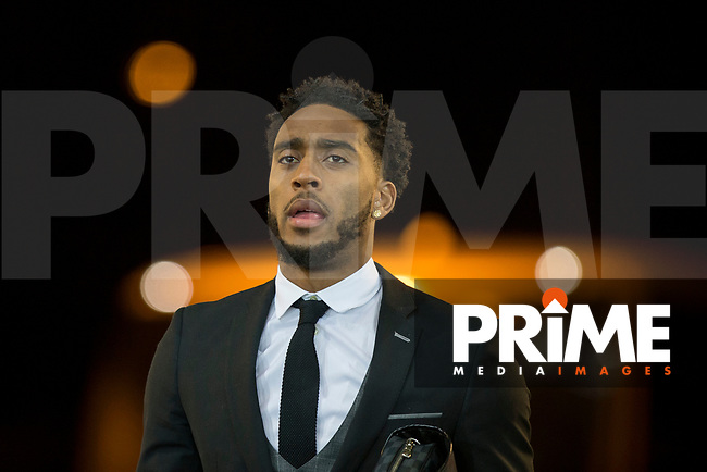 Leroy Fer of Swansea City arrives for the EPL - Premier League match between Swansea City and Manchester City at the Liberty Stadium, Swansea, Wales on 13 December 2017. Photo by Mark  Hawkins / PRiME Media Images.