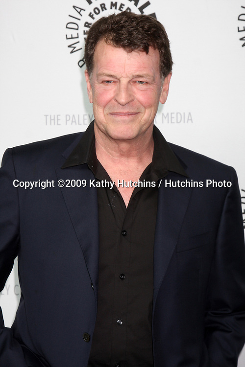 John Noble arriving at the Fringe  PaleyFest09 event on April 23 ,2009 at the ArcLight Theaters in Los Angeles, California..©2009 Kathy Hutchins / Hutchins Photo....                .