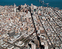 aerial view of San Francisco, CA