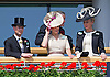 PRINCE EDWARD, SOPHIE, COUNTESS OF WESSEX AND CAZY<br /> observe the horses in the parade ring before the race at on the second day of Royal Ascot 2013, Ascot Racecourse, Ascot_19/06/2013<br /> Mandatory Credit Photo: &copy;Francis Dias/NEWSPIX INTERNATIONAL<br /> <br /> **ALL FEES PAYABLE TO: &quot;NEWSPIX INTERNATIONAL&quot;**<br /> <br /> IMMEDIATE CONFIRMATION OF USAGE REQUIRED:<br /> Newspix International, 31 Chinnery Hill, Bishop's Stortford, ENGLAND CM23 3PS<br /> Tel:+441279 324672  ; Fax: +441279656877<br /> Mobile:  07775681153<br /> e-mail: info@newspixinternational.co.uk