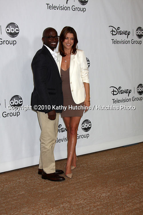 LOS ANGELES, CA - AUG 1:  Taye Diggs & Kate Walsh at the Disney / ABC Summer Press Tour  on August 1, 2010 in Beverly Hills, CA.....