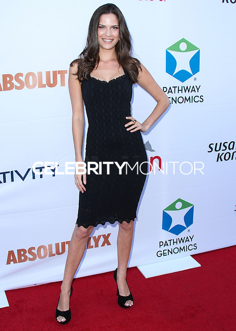 SANTA MONICA, CA, USA - JUNE 11: Melissa Haro at the Pathway To The Cures For Breast Cancer: A Fundraiser Benefiting Susan G. Komen held at the Barker Hangar on June 11, 2014 in Santa Monica, California, United States. (Photo by Xavier Collin/Celebrity Monitor)