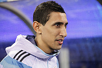 Argentina soccer player Angel Di Maria attends a friendly match between Argentina and Ecuador in New Jersey. 03.31.2015. Kena Betancur / VIEWpress.