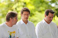 FOZ DO IGUAÇU, PR, 10.01.2019 –MEIO -AMBIENTE –  O ministro do Meio Ambiente, Ricardo Salles, durante comemoração dos 80 anos do Parque Nacional do Iguaçu na manhã desta quinta-feira (10) em Foz do Iguaçu (PR). (Foto: Paulo Lisboa/Brazil Photo Press)