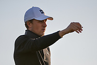 Jordan Spieth (USA) watches his tee shot on 11 during day 2 of the Valero Texas Open, at the TPC San Antonio Oaks Course, San Antonio, Texas, USA. 4/5/2019.<br /> Picture: Golffile | Ken Murray<br /> <br /> <br /> All photo usage must carry mandatory copyright credit (© Golffile | Ken Murray)