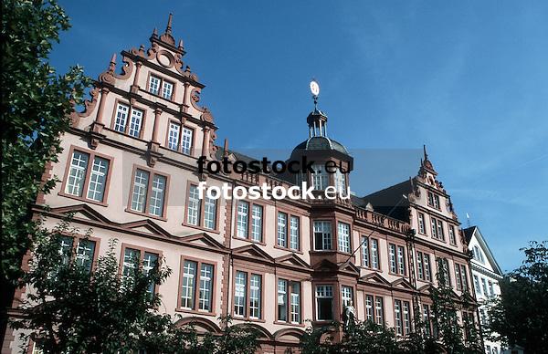 Palais Zum R&ouml;mischen Kaiser (1653, Sp&auml;trenaissance) mit Museum Gutenberg<br /> <br /> Museo Gutenberg<br /> <br /> Gutenberg Museum<br /> <br /> Original: 35 mm slide transparency