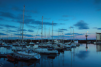 Ardrossan Marina at dawn, Ardrossan, Ayrshire<br /> <br /> Copyright www.scottishhorizons.co.uk/Keith Fergus 2011 All Rights Reserved