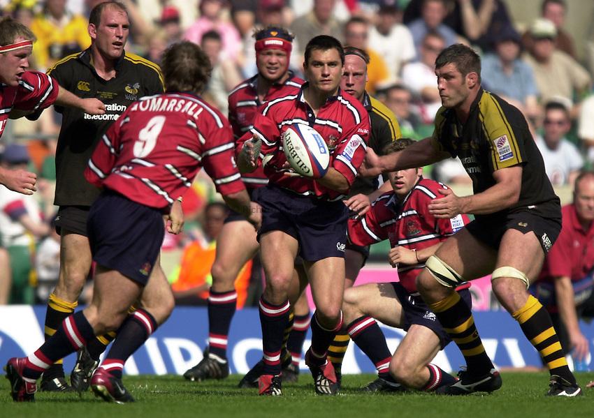 Photo: Richard Lane..Gloucester v London Wasps. Zurich Premiership Final 2003 at Twickenham. 31/05/2003..Thinus Delport