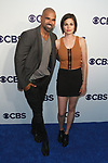 Shemar Moore and Lina arrive at the CBS Upfront at The Plaza Hotel in New York City on May 17, 2017.