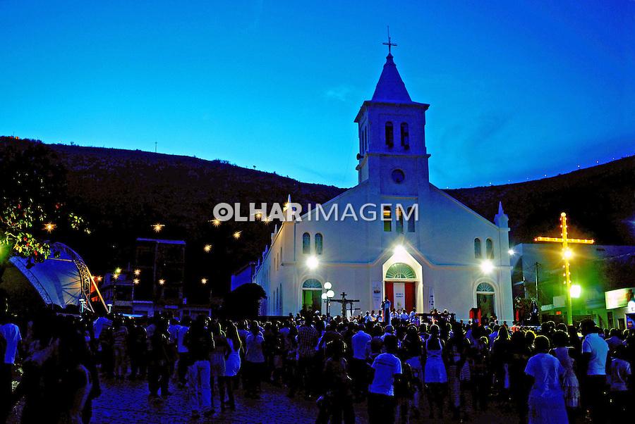 Missa em igreja, Monte Santo. Bahia. 2012. Foto de Joao Machado.