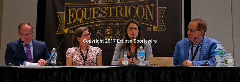 SARATOGA SPRINGS, NY - AUG 13: B.E.S.T Seminar at the Inaugural Equestricon Convention on August 13, 2017 in Saratoga Springs, New York. photo by Eclipse Sportswire/Equestricon