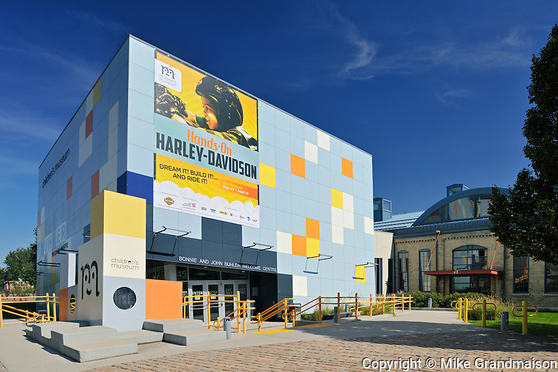 Children's Museum at The Forks. Buhler Welcome Centre<br /> Winnipeg<br /> Manitoba<br /> Canada