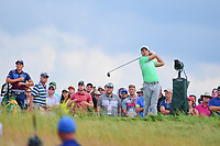 Jamie Lovemark (USA) watches his tee shot on 10 during Saturday's round 3 of the 117th U.S. Open, at Erin Hills, Erin, Wisconsin. 6/17/2017.<br /> Picture: Golffile | Ken Murray<br /> <br /> <br /> All photo usage must carry mandatory copyright credit (&copy; Golffile | Ken Murray)