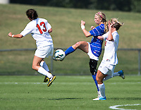 Virginia Women's Soccer vs Duke Blue Devils, September 30, 2012