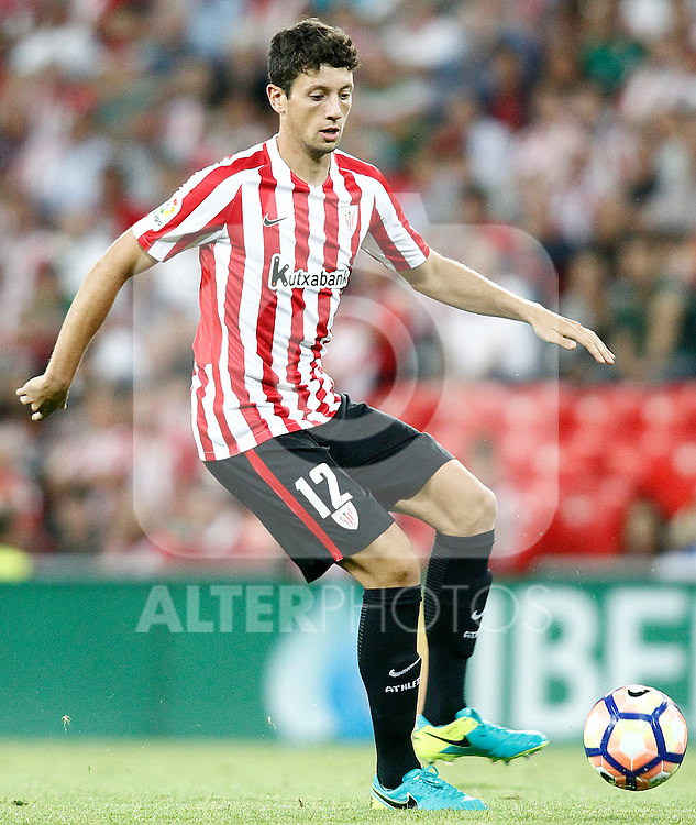 Athletic de Bilbao's Mikel Vesga during La Liga match. August 28,2016. (ALTERPHOTOS/Acero)