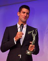 04-06-13, Tennis, France, Paris, Roland Garros,   ITF World Champions Dinner,Novak Djokovic