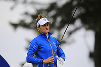 Anne Van Dam (EUR) on the 2nd tee during Day 3 Singles at the Solheim Cup 2019, Gleneagles Golf CLub, Auchterarder, Perthshire, Scotland. 15/09/2019.<br /> Picture Thos Caffrey / Golffile.ie<br /> <br /> All photo usage must carry mandatory copyright credit (© Golffile | Thos Caffrey)