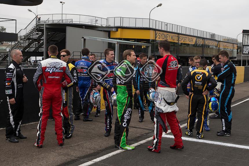2014 V8Supercars season launch at Sydney Motorsport Park, Sydney, New South Wales, February 14, 2014.<br /> &copy; Sport the library / Mark Horsburgh
