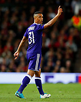 Youri Tielemans of Anderlecht during the UEFA Europa League Quarter Final 2nd Leg match at Old Trafford, Manchester. Picture date: April 20th, 2017. Pic credit should read: Matt McNulty/Sportimage