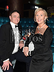 Donal Darby and Ann Roden at the ABACAS Valentine Ball at the Westcourt Hotel. Photo:Colin Bell/pressphotos.ie