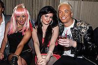 STUDIO CITY, CA - JUNE 23: Sabrina Parisi, Vikki Lizzi and KUBA Ka attend Polish Popstar KUBA Ka's concert at La Maison in Studio City on June 23, 2013 in Studio City, California. (Photo by Celebrity Monitor)