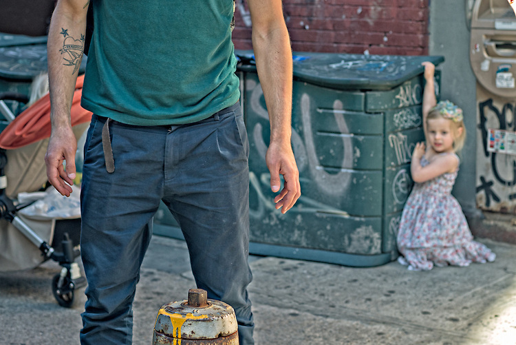 New York City Street daily.