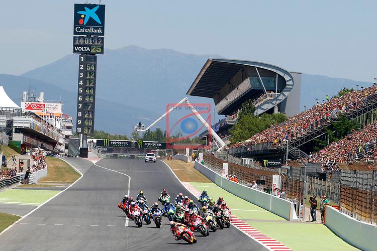 Gran Premi Monster Energy de Catalunya 2017.<br /> Moto GP Race.