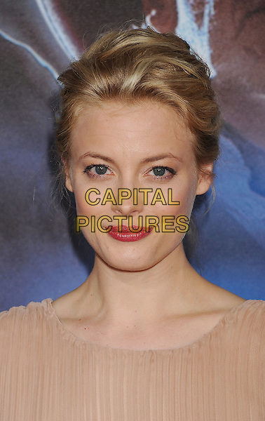 "Gillian Jacobs.The world premiere of ""Cowboys & Aliens"" at the San Diego Civic Theatre in San Diego, California, USA..July 23rd, 2011.headshot portrait beige red lipstick .CAP/ROT/TM.©Tony Michaels/Roth Stock/Capital Pictures"